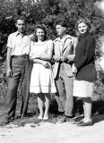 John Junas, Violet, TomJr., Rose Wiehl 1